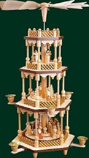 Christmas Pyramid Carousel