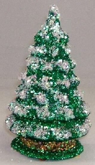 Ino Schaller German Paper Mache Small Christmas Tree