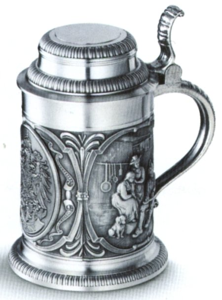 Pewter Steins & Tankards