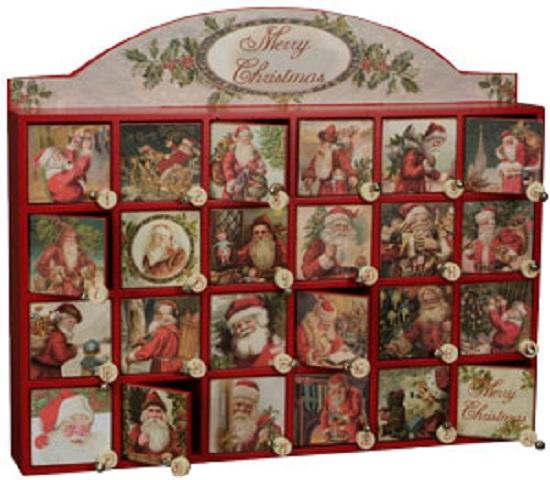 Wood Advent Calendars