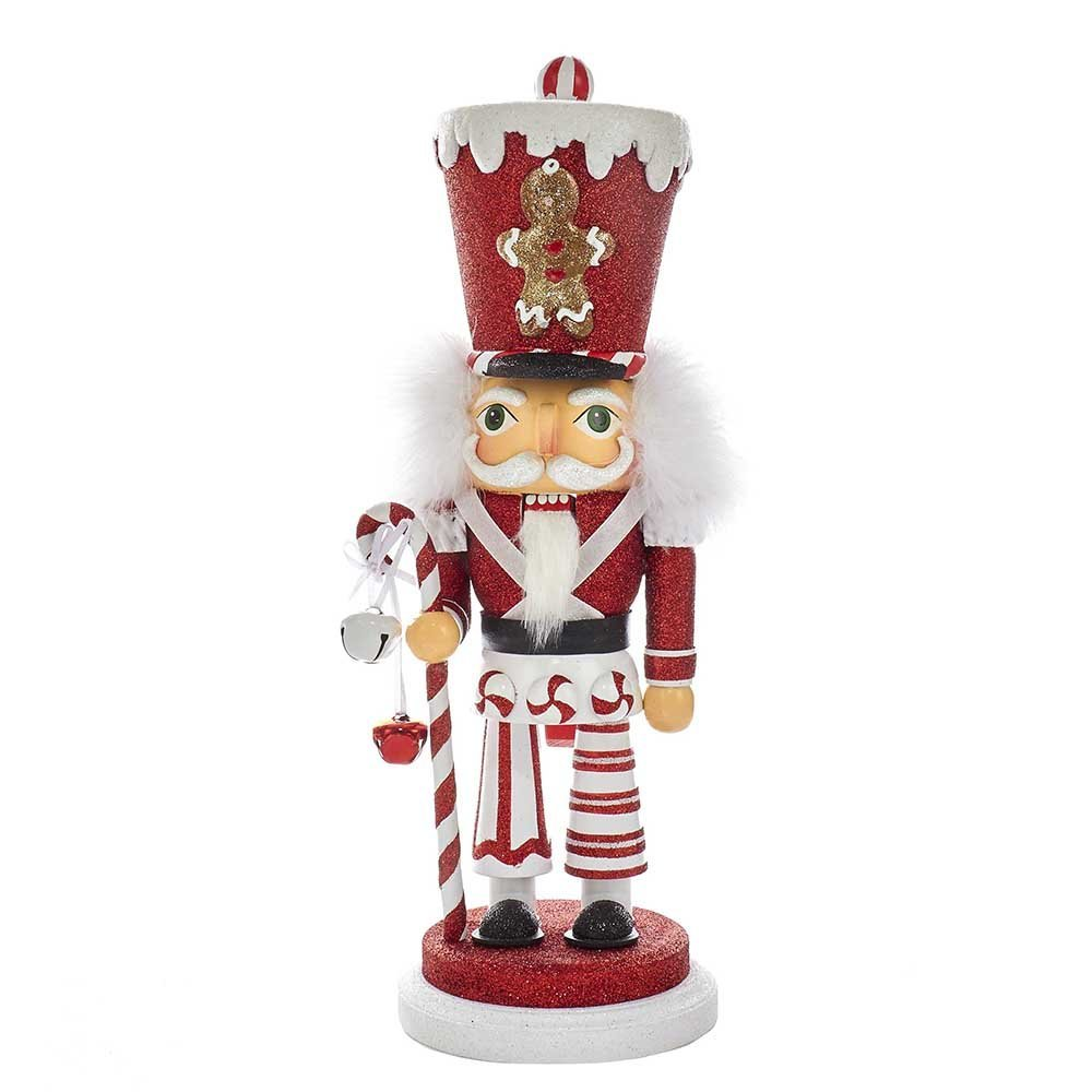 Hollywood Gingerbread Hat Soldier Wooden Christmas Nutcracker 16 Inch HA0324A