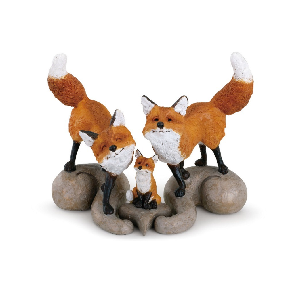 RED  FOX   ENAMELED JEWEL BOX    3865