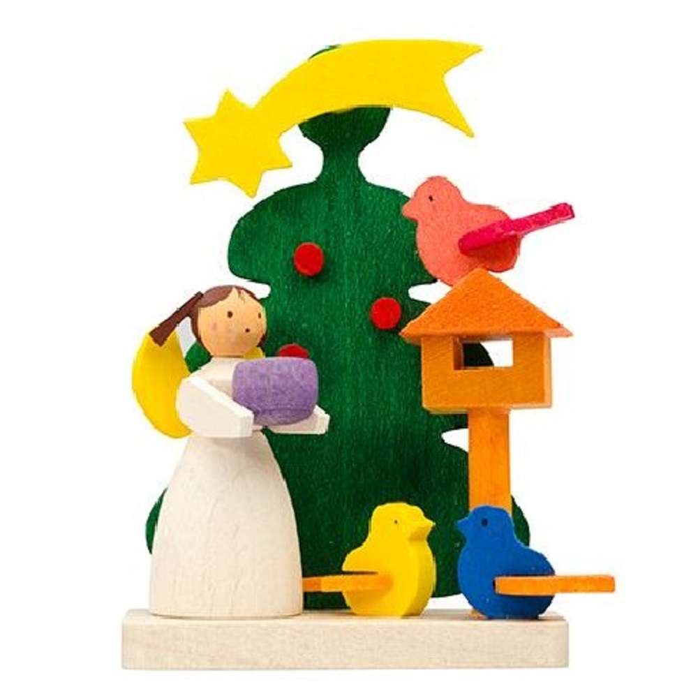 European Wood Ornaments